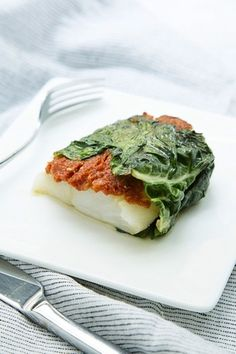 Start with fresh fish. Add sun-dried tomato tapenade and wrap it in a chard leaf. Throw it on the grill, and you have a fresh summer dinner, all wrapped up in a neat little package.