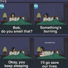 Bob's Burgers, television, cartoons, comedy Tgif Funny, Funny Puns, Hilarious, Funny Stuff, Funny Humor, Memes Humor, Funny Things, Random Things, Funny Weekend Quotes