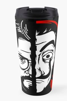 $27.35 Black Tumbler coffee Mug Money Heist Bella Ciao Shops, Beverages, Drinks, Coke, Coca Cola, Tumbler, Coffee Mugs, Canning, Tableware