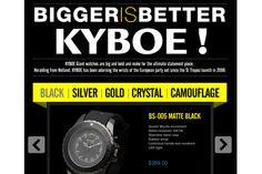 Win a KYBOE! Watch