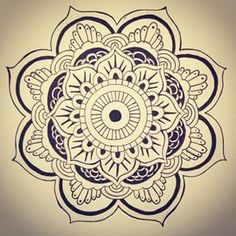 simple mandala designs - Google Search