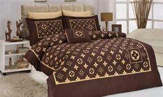 Oh Yeah. Designer Comforter Sets, Designer Bed Sheets, Bedding Sets, Bedroom Sets, Dream Bedroom, Bedroom Decor, Chanel Bedding, Glamour Decor, Luxury Lifestyle Fashion