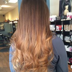 Seamless transition. This is what ombré should look like...