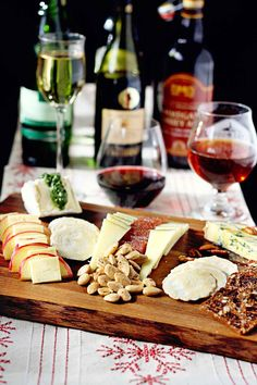 Cheese trays are a weekend tradition at my house. I didn't grow up this way and my mother still thinks I'm a bit of an odd bird for always having one out before dinner when company comes but I think it's the perfect way to great a guest. A bite and a glass is what...Read More » #DuVino#wine www.vinoduvino.com