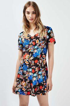 **Floral Tea Dress by Glamorous - Topshop