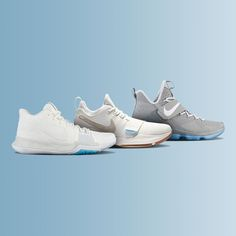 Pick up your summer hoops shoes today. New colorways of the LeBron 14, Kyrie 3, and PG 1 just dropped.