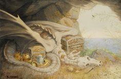 Dragon Bones ~ by Theodor Kittelsen