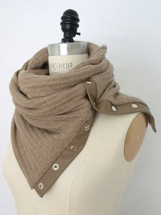 Italian Cashmere Circular Infinity Scarf by Amelie Bryson