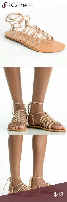 a70e2b597c50 Lucky Brand Collette Lace Up Gladiator size 10
