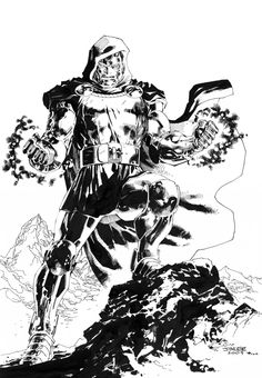 Doctor Doom (Dr. Victor Von Doom) | art by Jim Lee