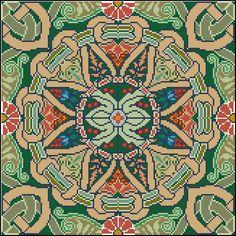 Gallery.ru / Фото #17 - Мои перенаборы 2 - Olya62 Thread Art, Square Patterns, Hama Beads, Needlepoint, Cross Stitch Patterns, Art Nouveau, Crochet, Sewing Projects, Bohemian Rug