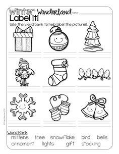 Christmas Themed Worksheets Free Printables  Printable