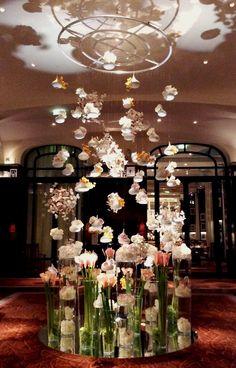 New installation... Chantilly de fleurs
