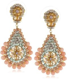 Miguel Ases Pink Coral Outlined Small Teardrop Earrings, http://www.amazon.com/dp/B00B595D7K/ref=cm_sw_r_pi_awdm_dWvPub117B93W