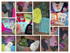 Huge 39pc Girl's Clothing Lot sz 10-12 Justice Hollister hoodies jeans shirts +