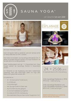 Wellnesstrend SaunaYoga *** Sauna-Yoga *** Wellness & mehr – Infos & Tipps zum Thema Wellness, DaySpa & Wellness-Termine