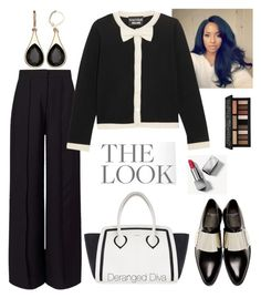 """""""Boss Chic Motivation"""" by derangeddiva on Polyvore featuring Miss Selfridge, Boutique Moschino, Furla, Givenchy, Burberry and Kat Von D"""