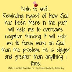 Note; God is with me