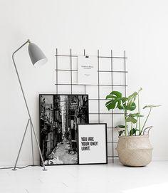 Bildevegg til stuen   Lag en fin bildevegg med plakater i sturen