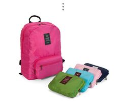 rickychan is selling: korean unisex outdoor travel foldable waterproof backpack for sale at UniSquare - Buy it now!