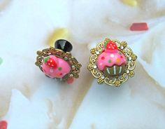 #cupcakes #plugs #flowers #rhinestones #sparkle #cute #kawaii #sweet #pink #pastel #sprinkles