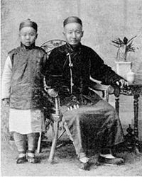 Jews of Kaifeng, late 19th or early 20th century. The Kaifeng Jews are members of a small Jewish community in Kaifeng, in the Henan province of China who have assimilated into Chinese society while preserving some Jewish traditions and customs. Their origin and time of arrival in Kaifeng are a matter of debate among experts.