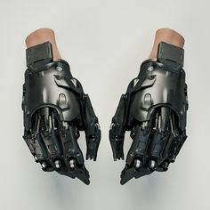 "rhubarbes: ""ArtStation - Gloves, by Mark Chang """