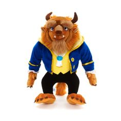 It's Beast, all dressed up in his finest gear, ready to woo the Belle of the ball! Add a little fun finesse to your soft toy collection with our not-so-beastly soft toy.