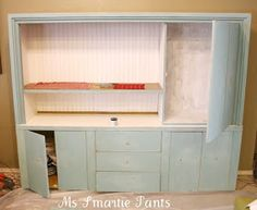 ~ Ms Smartie Pants ~: Beautified Cabinet transformed with ASCP!