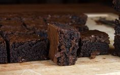 Dark chocolate Brownies.  I'd have to take these to a function so I wouldn't eat them all.  Gabriel doesn't like dark chocolate.  So sad...