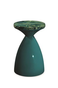 TOP PICK Lisa Ferguson www.lisafergusondesign.com Jonathan Charles Fine Furniture Teal Painted Wine Table The fun and colorful Teal Painted Wine Table features an hourglass design lacquered in teal with a teal and citrine painted marble top. #HPmkt