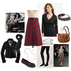 from my polyvore. audrey horne-inspired outfit for eup homecoming this weekend.