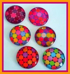 cute and colorful magnets!