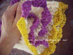 Gola de lã Bucos e Zagal. *a Marta com malhas portuguesas nas mãos* #bucos #zagal