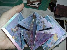 How to make a concertina book