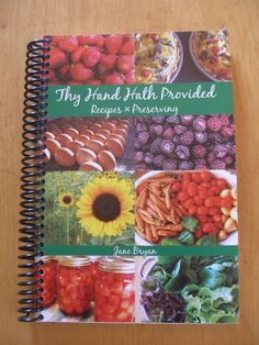 Cookbook Giveaway ends June 16th