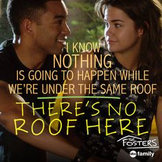 Very smooth, AJ...very smooth. | The Fosters Quotes