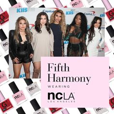 12.05.16 // Fifth Harmony in NCLA at the 2016 #iHeartJingleBall // Super babe group, Fifth Harmony slayed the red carpet AND their 'Work from Home' performance at the 2016 #iHeartJingleBall in three shades of NCLA! #shopNCLA #NCLA #nailpolish #naillacquer #nailwraps #designernailwraps #NCLAnailwraps #FifthHarmony #pinknailpolish #glitternailpolish #rednailpolish