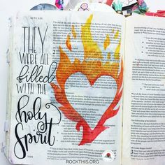Bible Journaling- Acts: The Power of the Holy Spirit