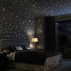 Amazing Bedroom Starry Night Glow