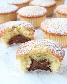 muffinschokladgomma4 Muffin Recipes, Baking Recipes, Dessert Recipes, Donuts, Canned Blueberries, Vegan Scones, Gluten Free Flour Mix, Scones Ingredients, Swedish Recipes