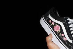Custom Rose Vans
