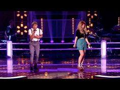 The Voice UK 2013 | Leah McFall Vs CJ Edwards - Battle Rounds 2 - BBC One - YouTube