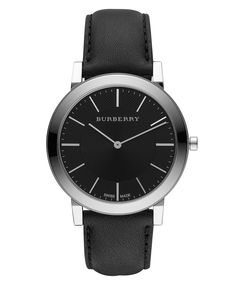 burberry leather strap watch and burberry men burberry watch men s swiss black leather strap 20mm bu2351