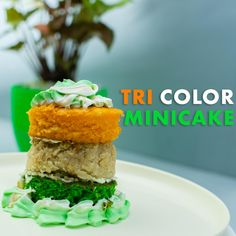 Independence Day Special, Sponge Cake, Mini Cakes, Pistachio, Vanilla Cake, Cooking Recipes, Desserts, Crafts, Color