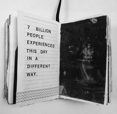 7 billion people experienced this day in a different way.