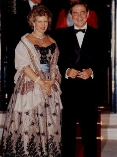 Queen Anne Marie & King Constantine II of Greece