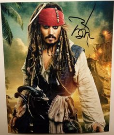 Johnny Depp - Hand Signed 8x10 - Autographed Photo - Hologram coa NONE OF THE ITEMS WE SELL ARE REPRINTS. THEY ARE ALL HAND SIGNED BY THE CELEBRITY TH... #photo #hologram #autographed #signed #depp #hand #johnny
