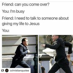 28 Hilarious Christian Memes To Redeem Your Sinful Ass - Funny Gallery Humor 28 Hilarious Christian Memes To Redeem Your Sinful Ass Funny Christian Memes, Christian Humor, Christian Girls, Christian Life, Funny Relatable Memes, Funny Quotes, Hilarious Memes, Funny Jesus Memes, Funny Church Memes