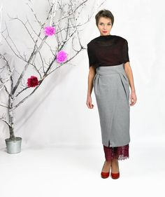 Maxi Skirt Long Skirt High Waisted Skirt Boho Skirt от FatBerry